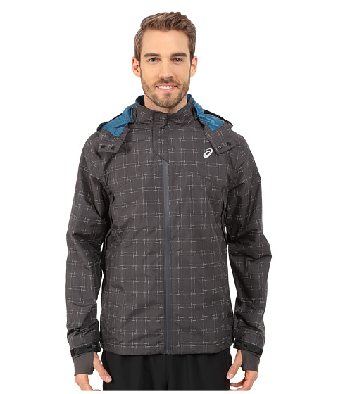 ASICS - Storm Shelter Jacket (Dark Grey) Men's Coat