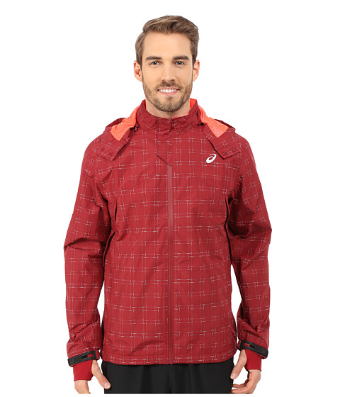 ASICS - Storm Shelter Jacket (Deep Ruby) Men's Coat