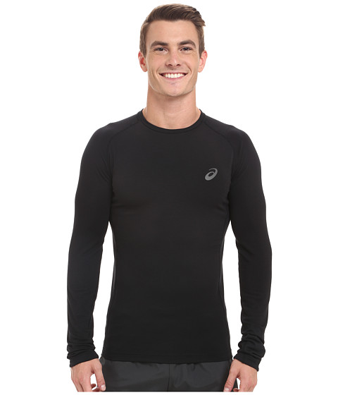 ASICS - Fujitrail Baselayer (Performance Black) Men's Long Sleeve Pullover