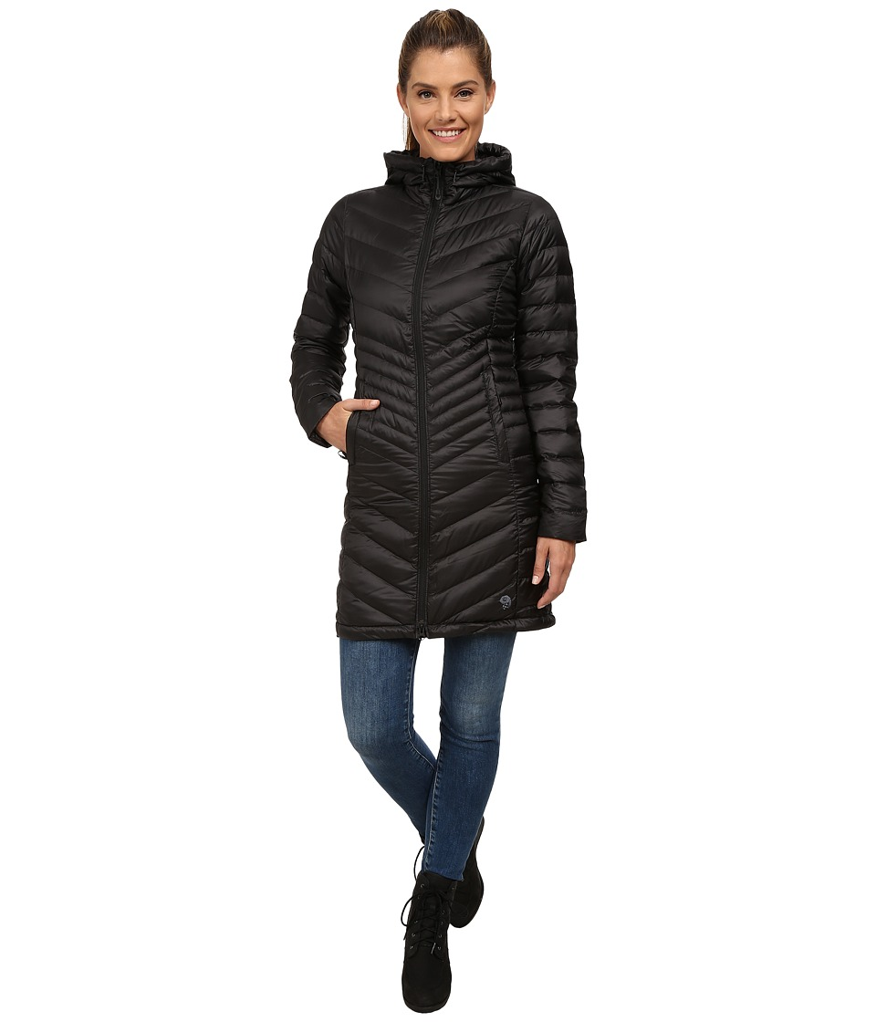 Mountain Hardwear - Nitrous Hooded Down Parka (Black) Women's Coat