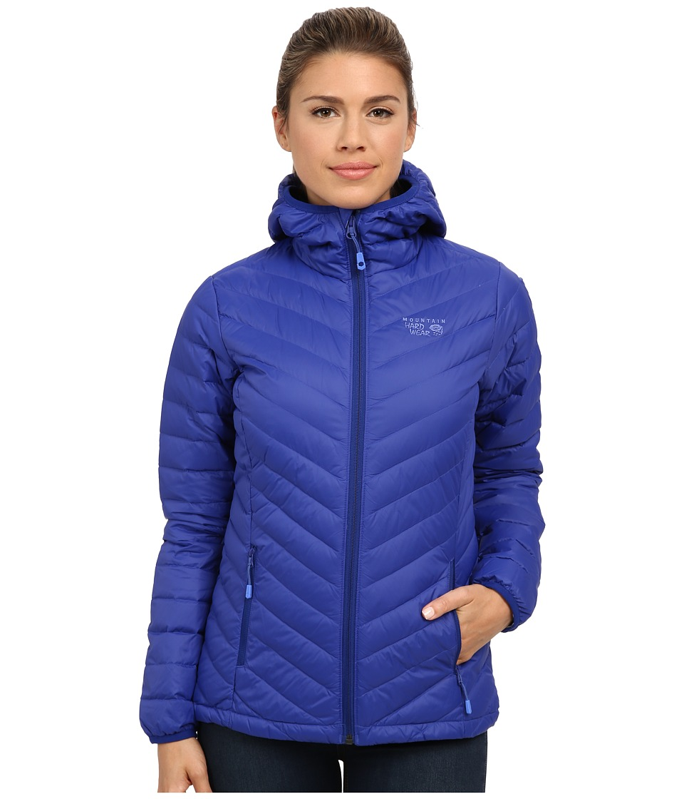 Mountain Hardwear - Micro Ratio Hooded Down Jacket (Dynasty) Women's Jacket