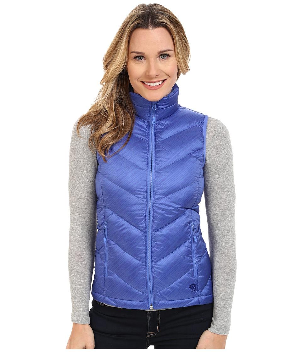 Mountain Hardwear - Ratio Printed Down Vest (Bright Bluet) Women