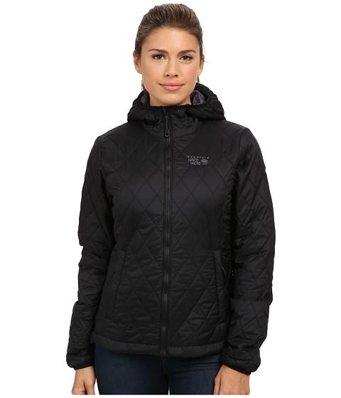Mountain Hardwear - Thermostatic Hooded Jacket (Black/Graphite) Women's Coat