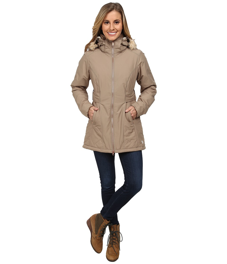 Mountain Hardwear - Potrero Parka (Khaki) Women's Coat