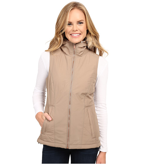 Mountain Hardwear - Potrero Insulated Vest (Khaki) Women's Vest