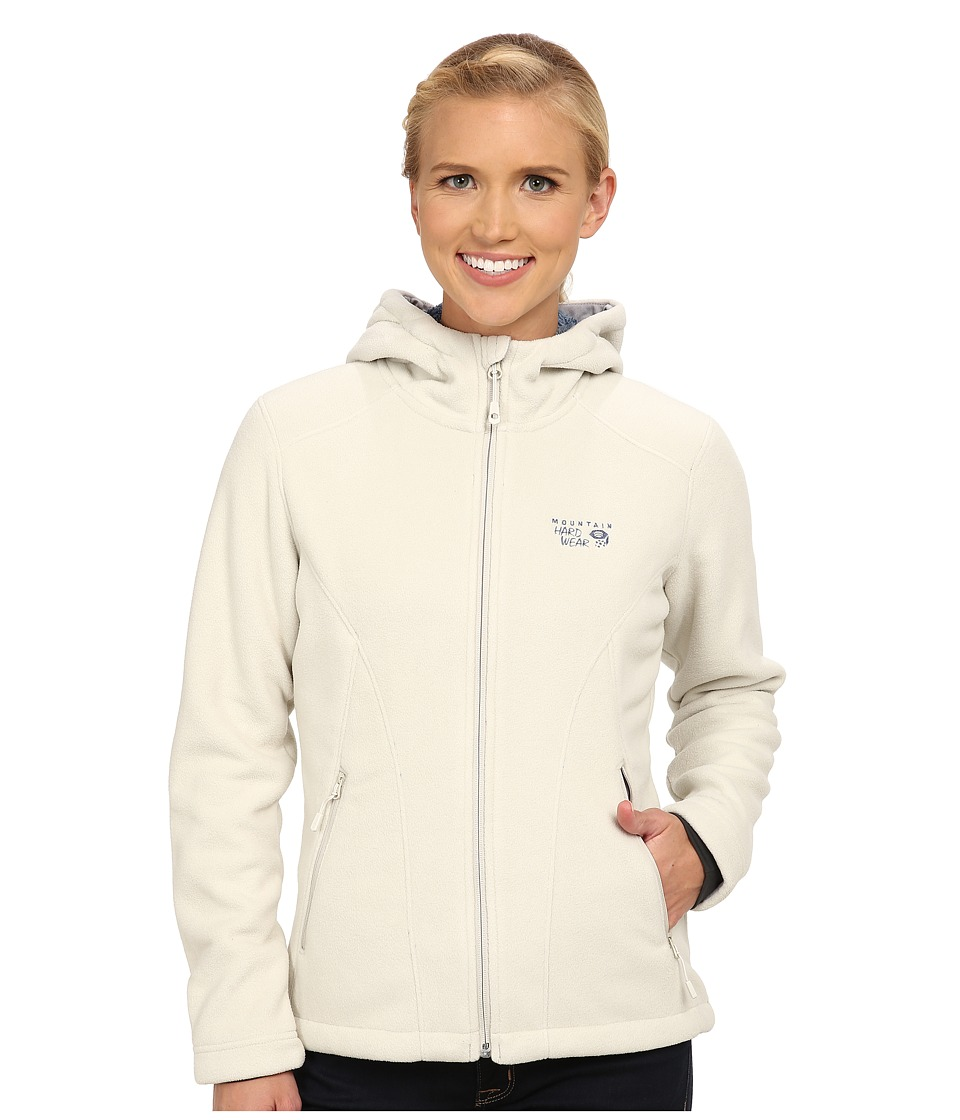Mountain Hardwear - Dual Fleece Hooded Jacket (Stone) Women's Jacket