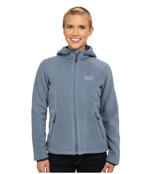 Mountain Hardwear - Dual Fleece Hooded Jacket (Mountain) Women