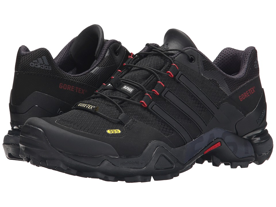 adidas Outdoor - Terrex Fast R GTX W (Black/Dark Grey/Power Red) Women's Shoes
