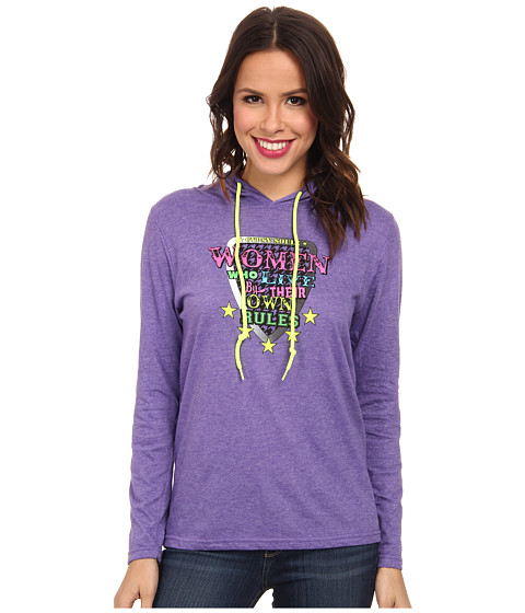 Gypsy SOULE - Who Live By Their Own Rules (Purple) Women's Clothing