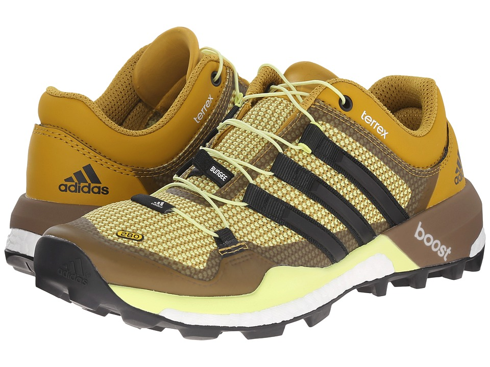 adidas Outdoor - Terrex Boost (Raw Ochre/Black/Semi Frozen Yellow) Women's Shoes