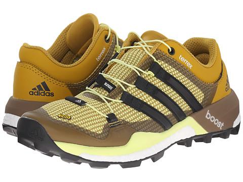 adidas Outdoor - Terrex Boost (Raw Ochre/Black/Semi Frozen Yellow) Women's Shoes
