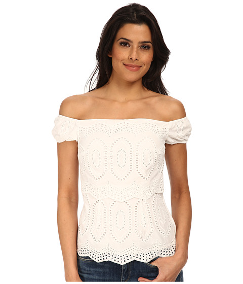 Bailey 44 - Racketer Top (White) Women