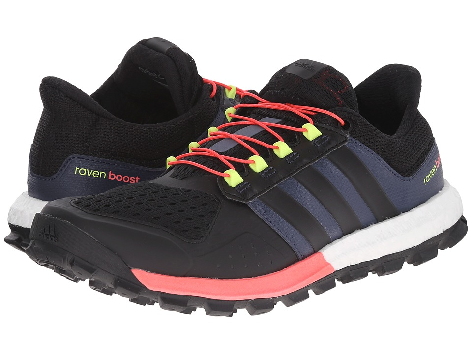 adidas Outdoor Adistar Raven Boost (Black/Black/Flash Red) Women