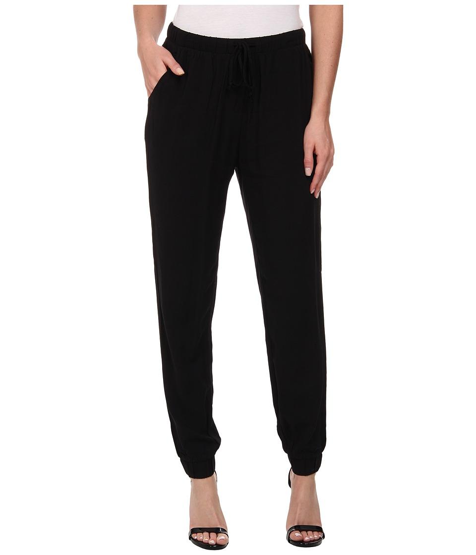 Alternative - Rayon Challis Jogger Pants (Black) Women's Casual Pants
