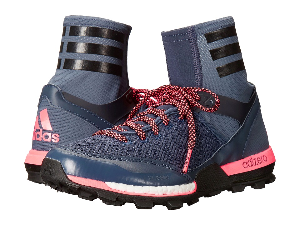adidas Outdoor - Adizero XT Boost (Midnight Grey/Black/Flash Red) Women's Shoes
