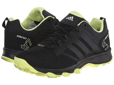 adidas Outdoor - Kanadia 7 Trail GTX (Black/Semi Frozen Yellow/Chalk White) Women