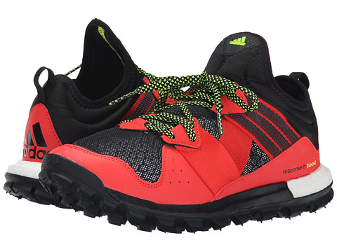 adidas Outdoor - Response Trail Boost (Solar Red/Black/Solar Yellow) Women