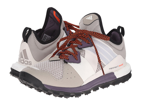 adidas Outdoor - Response Trail Boost (Light Brown/Ash Purple/Solar Red) Women