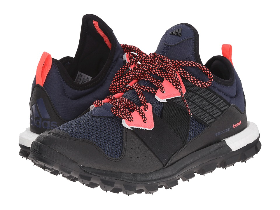adidas Outdoor Response Trail Boost (Midnight Grey/Granite/Flash Red) Women