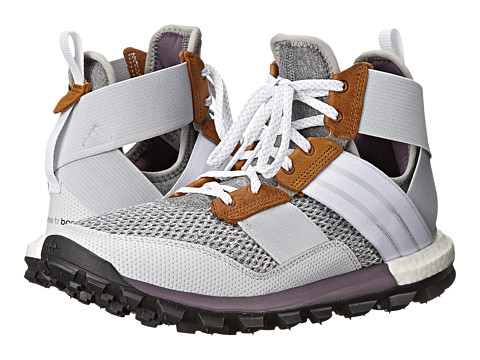 adidas Outdoor - Response Trail Boost Boot (Medium Grey Heather/White/Ash Purple) Women