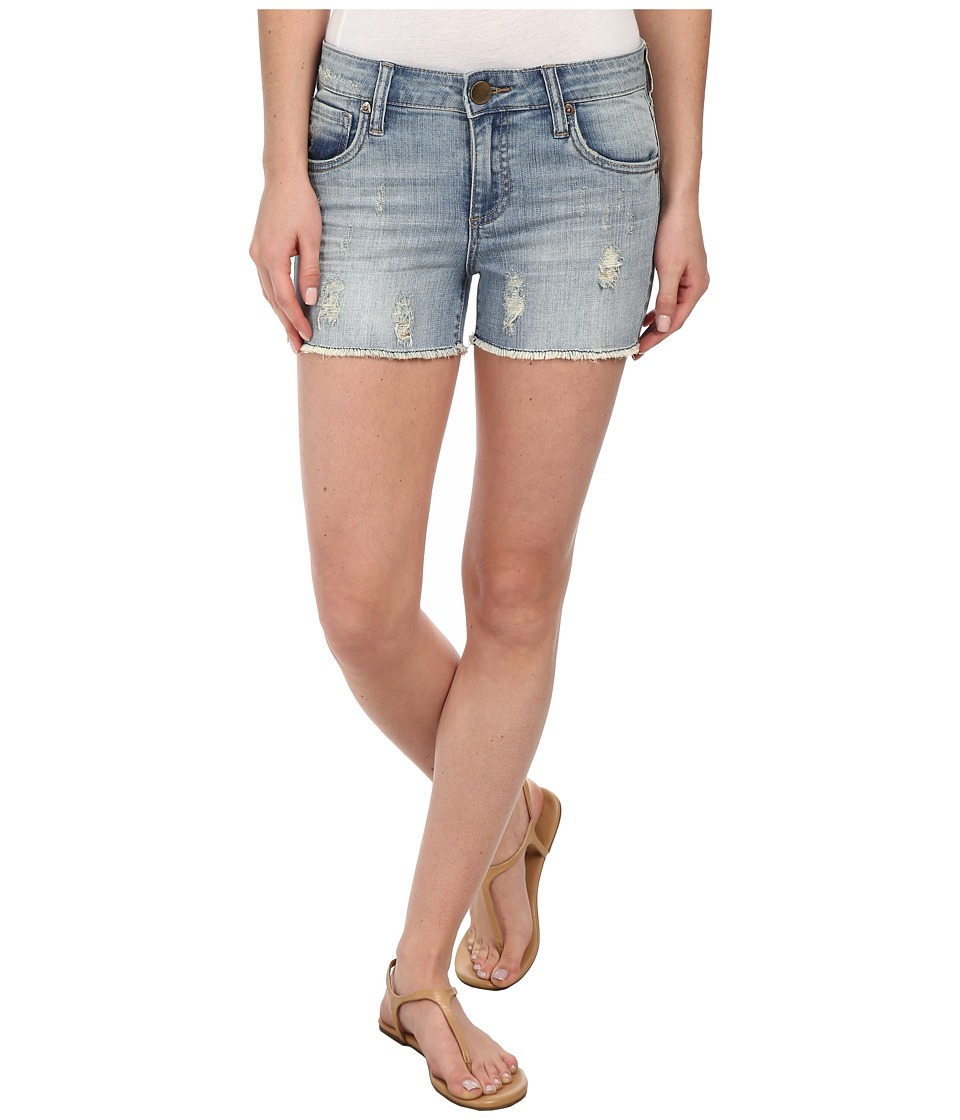 KUT from the Kloth - Gidget Shorts (Contented Wash) Women's Shorts