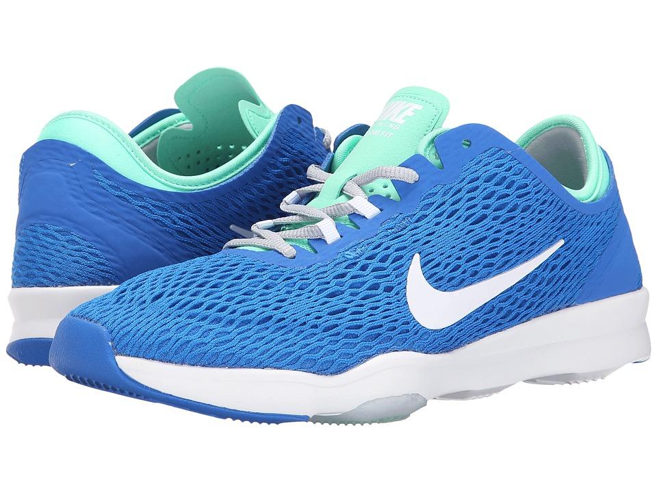 Nike - Zoom Fit (Soar/Green/Glow/Wolf Grey/White) Women's Cross Training Shoes
