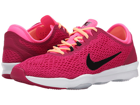 Nike - Zoom Fit (Sport Fuchsia/Pink Pow/White/Black) Women's Cross Training Shoes