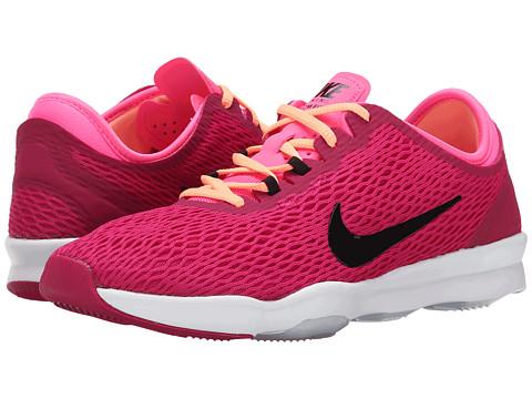 Nike - Zoom Fit (Sport Fuchsia/Pink Pow/White/Black) Women's Cross Training Shoes