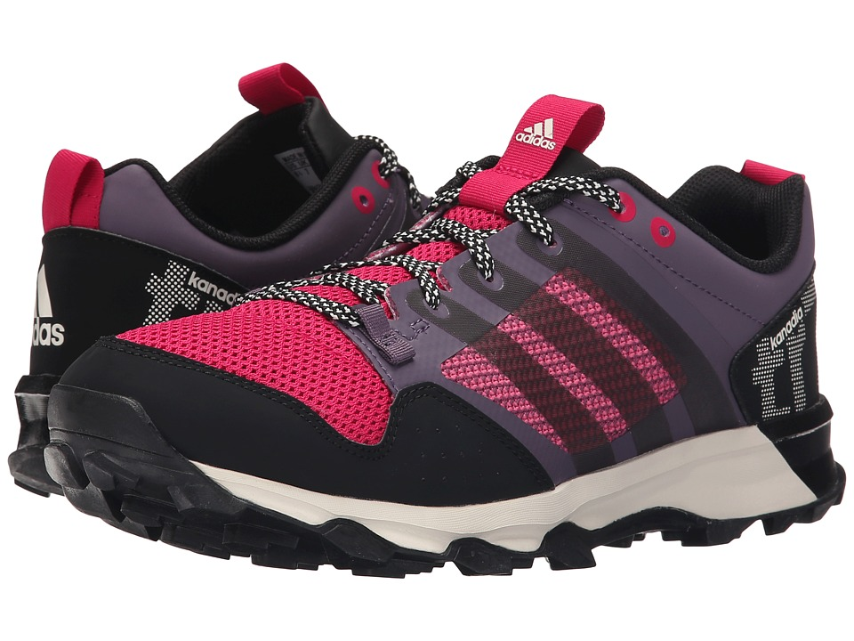 adidas Outdoor - Kanadia 7 Trail (Ash Purple/Black/Bold Pink) Women's Shoes