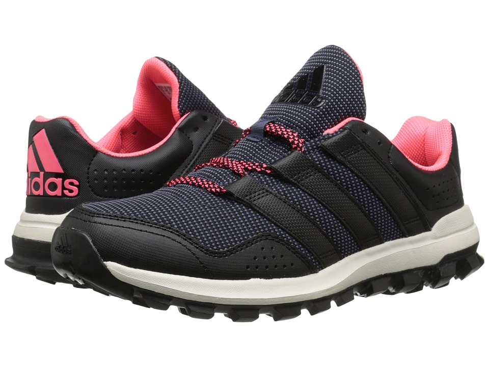 adidas Running - Slingshot Trail (Midnight Grey/Black/Flash Red) Women's Shoes