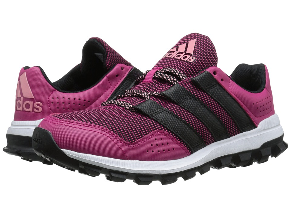 adidas - Slingshot Trail (Bold Pink/Black/Super Pop) Women's Shoes