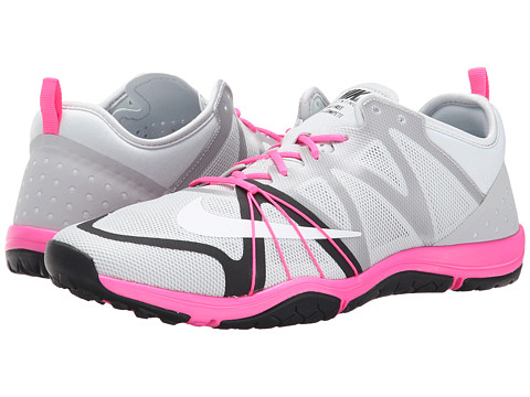 Nike - Free Cross Compete (Pure Platinum/Pink Pow/Black/White) Women's Cross Training Shoes