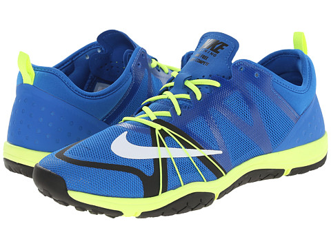 Nike - Free Cross Compete (Soar/Volt/Black/White) Women