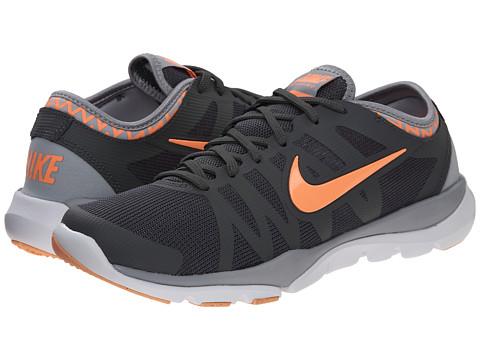 Nike - Flex Supreme TR 3 (Dark Grey/Wolf Grey/White/Sunset Glow) Women