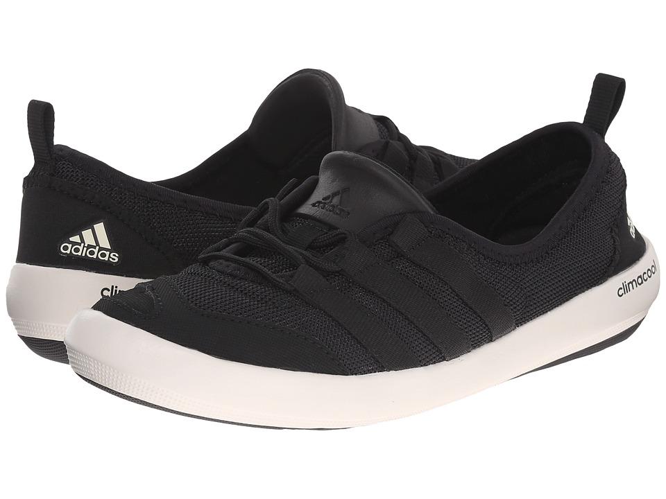 adidas Outdoor CLIMACOOL Boat Sleek (Black/Chalk White/Black) Women