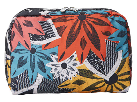 LeSportsac - Extra Large Rectangular Cosmetic (Caraway Floral) Cosmetic Case