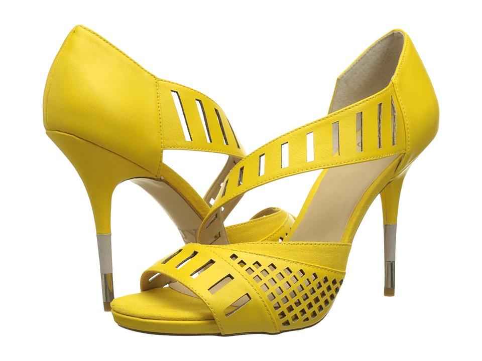 GX By Gwen Stefani - Adler (Yellow Matte Vachetta) High Heels
