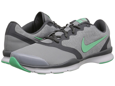 Nike - In-Season TR 4 (Wolf Grey/Dark Grey/White/Green Glow) Women's Cross Training Shoes