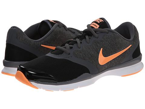 Nike - In-Season TR 4 (Black/Dark Grey/White/Sunset Glow) Women