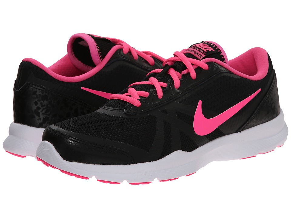 Nike - Core Motion TR 2 Mesh (Black/Dark Grey/White/Pink Pow) Women's Cross Training Shoes