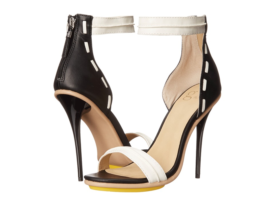 GX By Gwen Stefani - Armin (White/Black Matte) High Heels