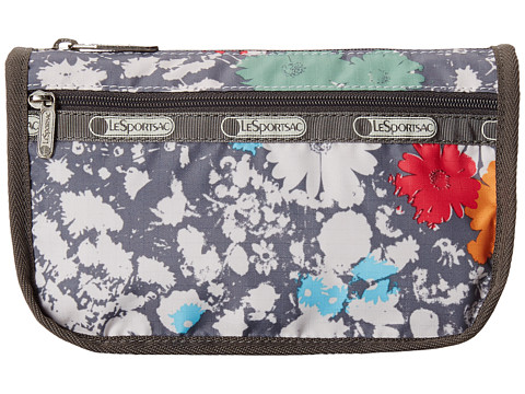 LeSportsac - Travel Cosmetic (Chroma Flower) Cosmetic Case