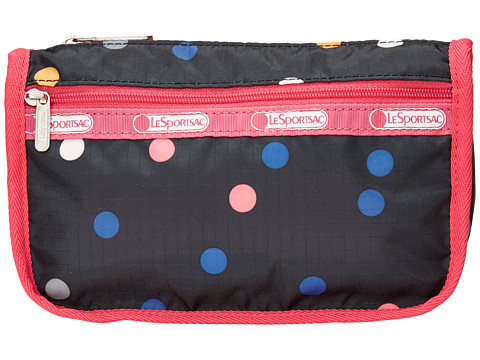 LeSportsac - Travel Cosmetic (Litho Dot Pink) Cosmetic Case