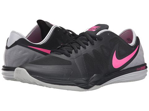 Nike - Dual Fusion TR 3 (Black/Wolf Grey/Pink Pow) Women's Cross Training Shoes
