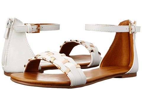 Wanted - Bandeau (White) Women's Sandals