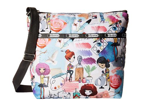 LeSportsac - Small Cleo Crossbody Hobo (Art School) Cross Body Handbags