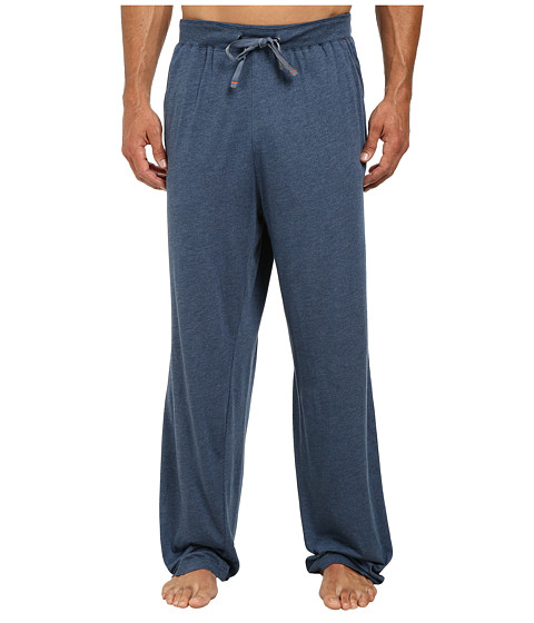 Tommy Bahama - Heather Cotton Modal Jersey Lounge Pants (Navy) Men