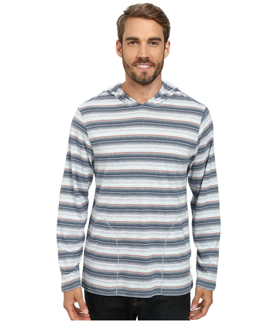 Tommy Bahama - Yarn Dyed Heather Stripe Tee (Multi) Men's Long Sleeve Pullover