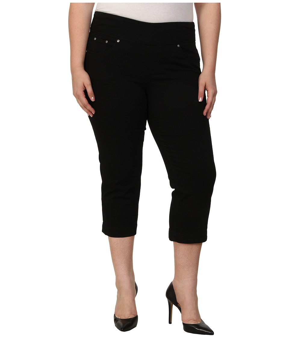 Jag Jeans Plus Size - Plus Caley Pull-On Crop Classic Fit in Black (Black) Women