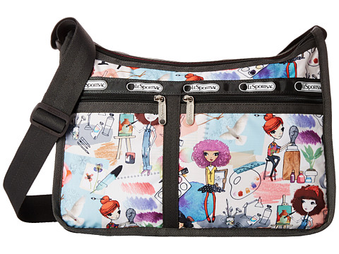LeSportsac - Deluxe Everyday Bag (Art School) Cross Body Handbags